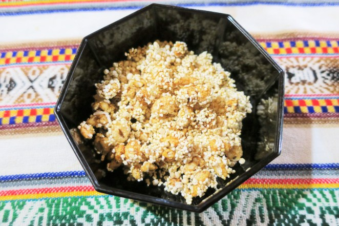 Muesli de quinoa