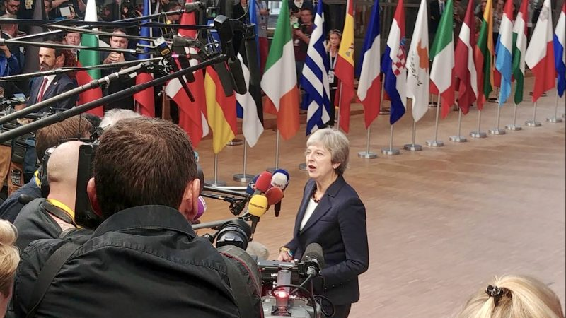 En direct : un sommet Brexit sans accord final