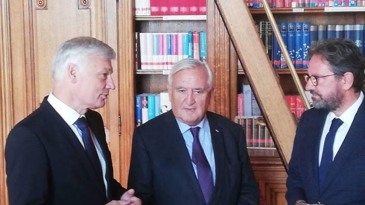 Claude Wiseler parle aux Français du Luxembourg