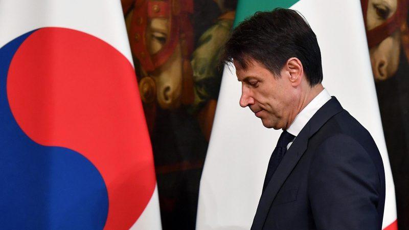 Le sommet de l'euro assombri par le budget italien