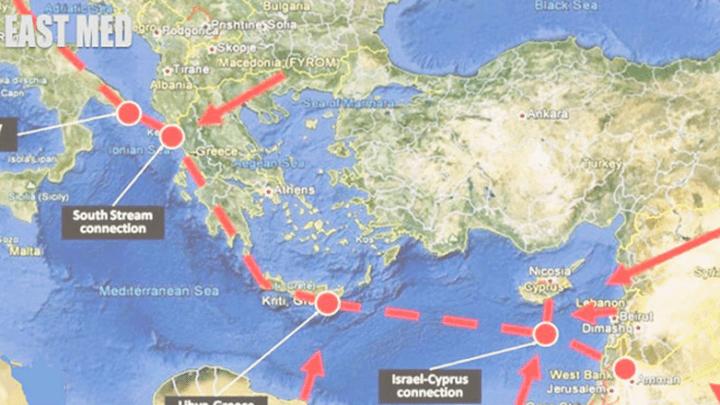 Eastmed, le nouveau gazoduc stratégique entre l'Europe et le Moyen-Orient.