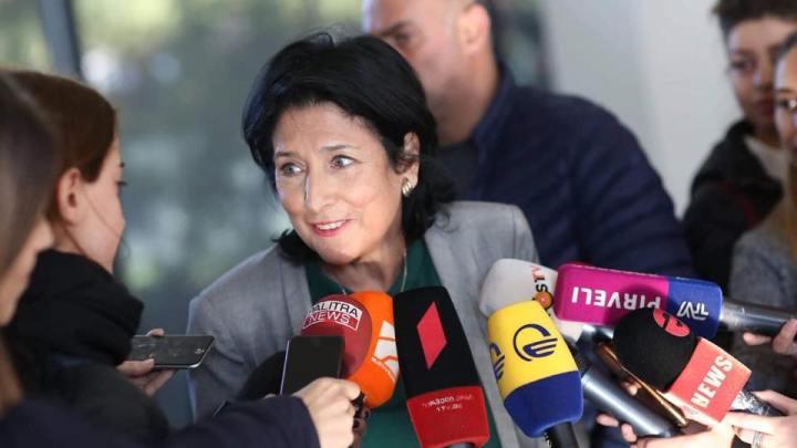 Une ex ambassadrice de France  élue Présidente de  la Géorgie