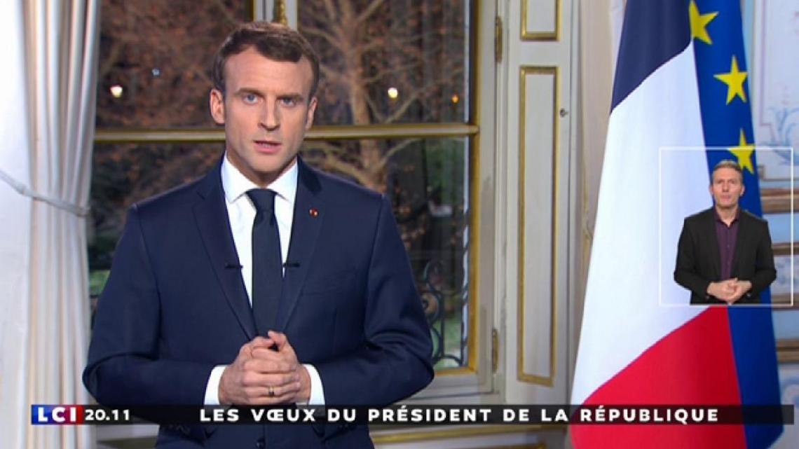 Intervention du Président de la République à l'occasion des Voeux pour l'année 2019 – VIDEO