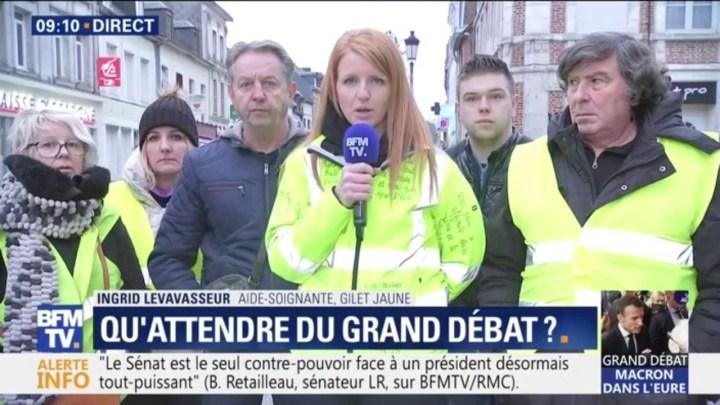 Gilets jaunes: Ingrid Levavasseur va mener une liste aux européennes