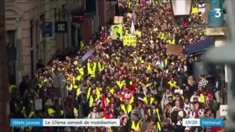 «Gilets jaunes»: mobilisation au plus bas une semaine avant la fin du grand débat