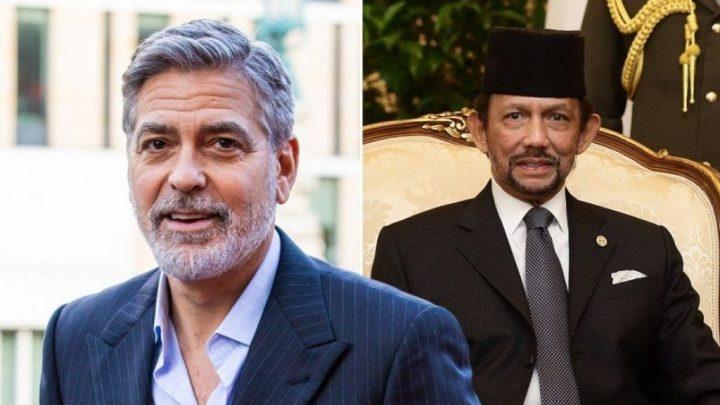 Clooney boycotte Bruneï.