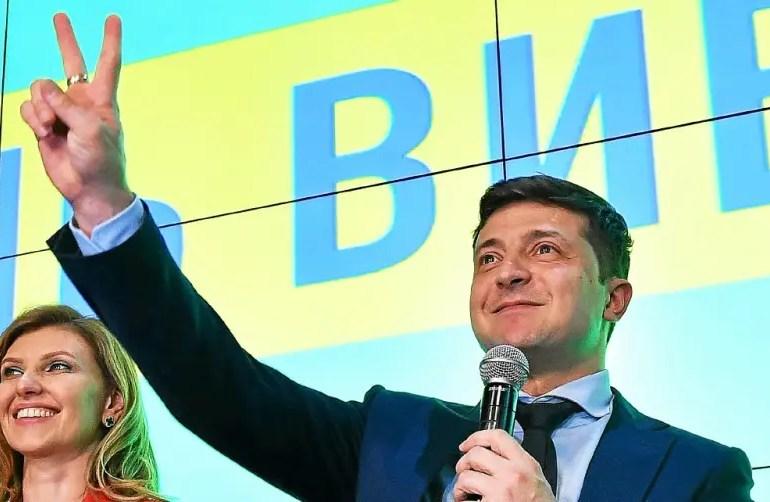 Un tiers des Ukrainiens ont voté pour un comédien qui joue le rôle d'un Président.