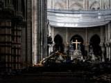 2 mois après l'incendie : Première messe à Notre-Dame