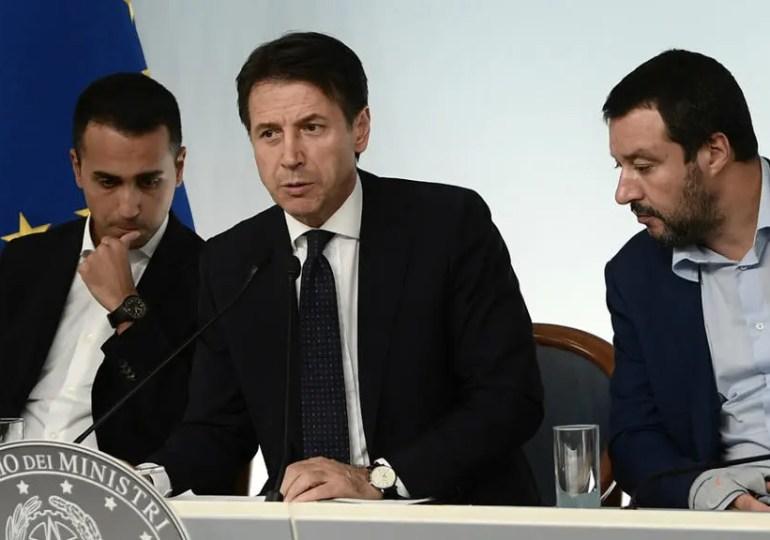 L'italie s'enfonce dans la crise.. Après l'économie, le gouvernement s'apprête à chuter, à cause du TGV