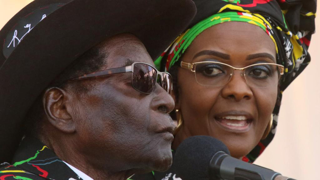 Mugabe en enfer – La mort n'excuse pas tout.