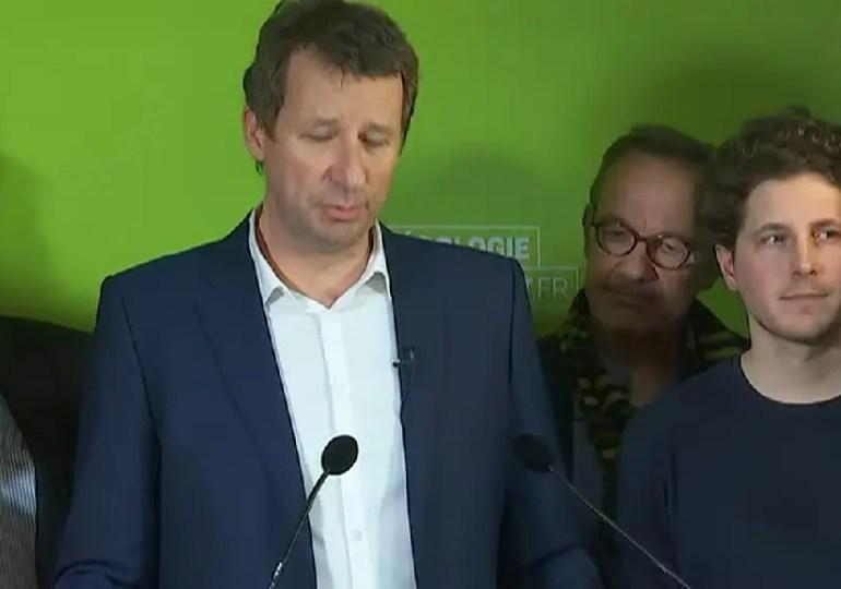 """""""Aujourd'hui, nous avons un pays abîmé, en situation de burn-out démocratique et social"""", affirme Yannick Jadot - Europe Ecologie Les verts"""