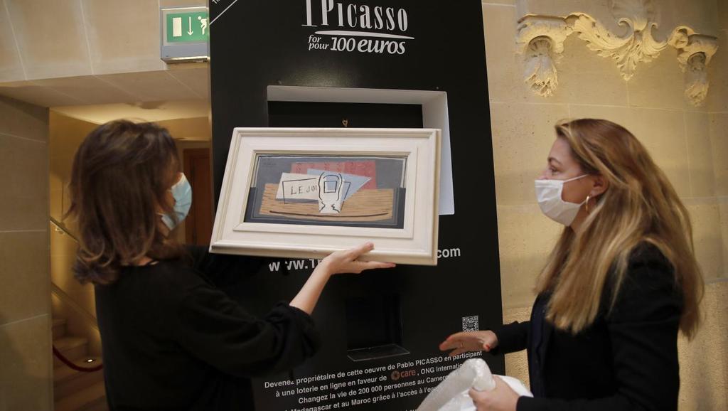 Un Picasso à 100 euros pour aider le Cameroun, le Maroc et Madagascar – VIDEO TV5 MONDE