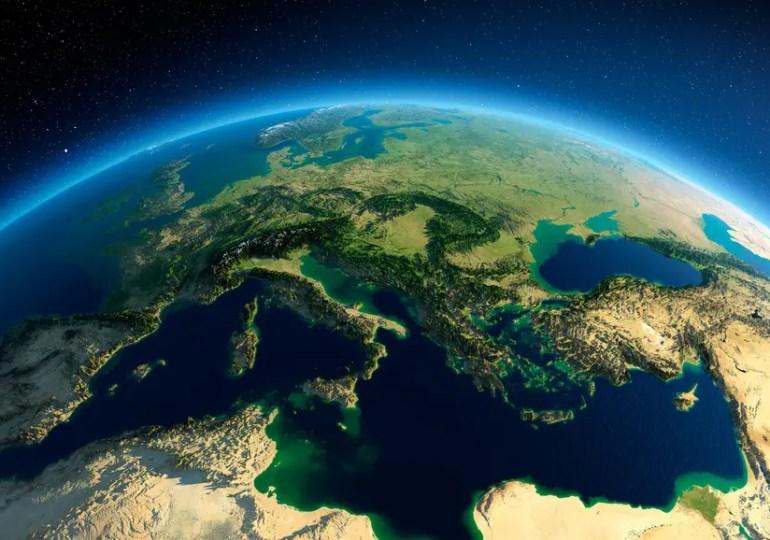 La Méditerranée au secours de l'Europe.