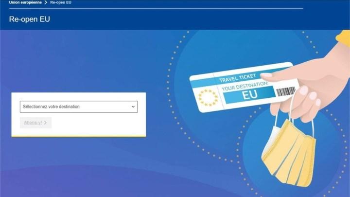 Re-open EU – L'application pour circuler librement dans l'espace Schengen