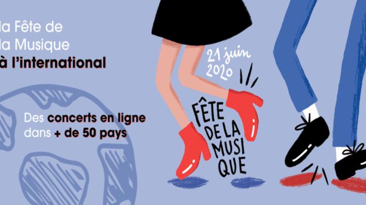la Fête de la Musique en ligne – 150 artistes français dans 50 pays