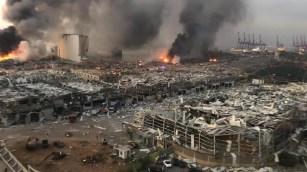 Explosion au port de Beyrouth