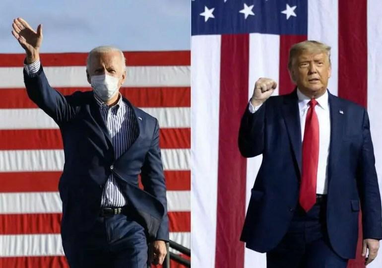 Biden peut gagner, Trump peut l'empêcher