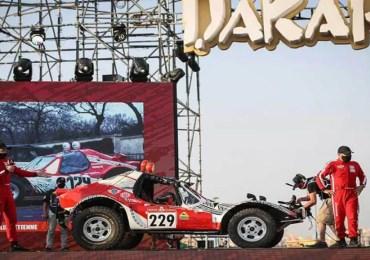 Un Français de l'étranger a gagné le Dakar Classic