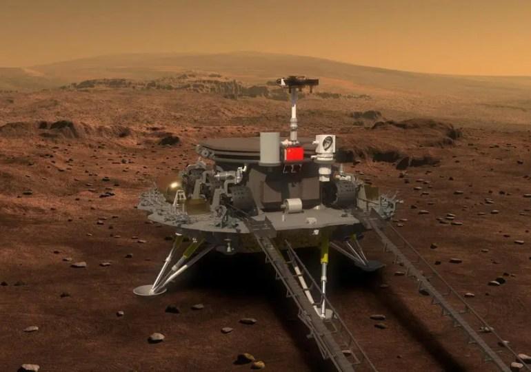 Chine : le robot Zhurong réussit à se poser sur Mars