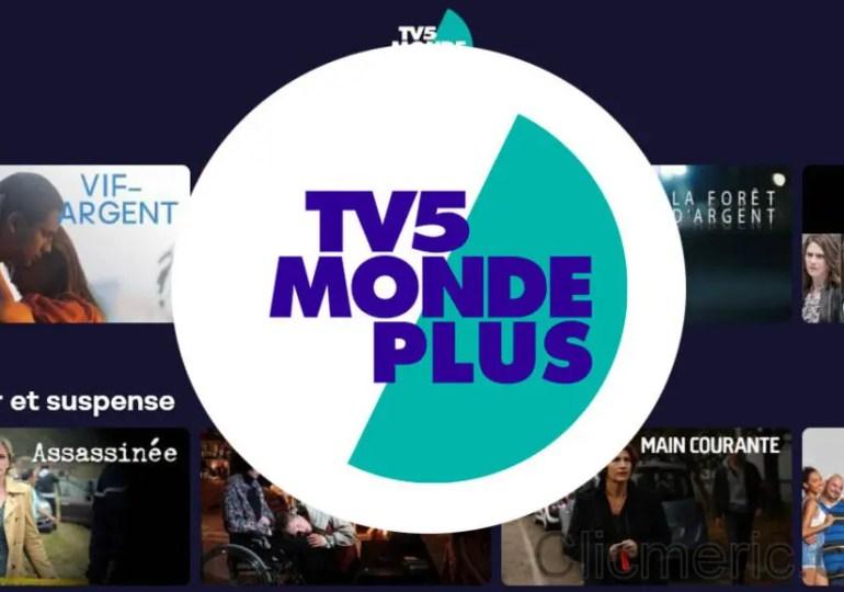 TV5MONDEplus, disponible facilement aux USA.