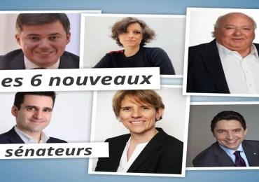 26 septembre : voici les 6 sénateurs élus