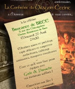 Le Dragon Eteint: Brocante à Bree