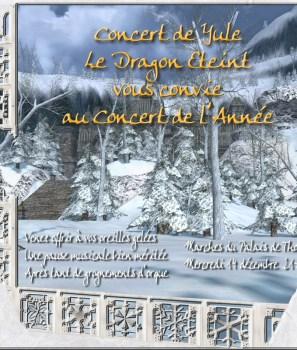 Concert de Yule du Dragon Éteint