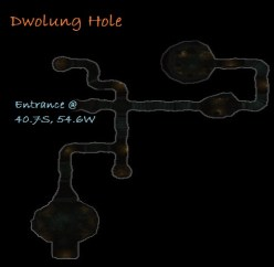 Carte du Trou de Dwolug - Rohan