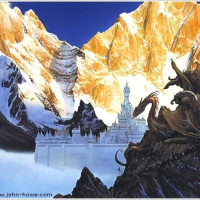 Les forces de Morgoth assaillant Gondolin