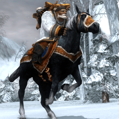 Tenue Snow Horse - Cosmetic LOTRO