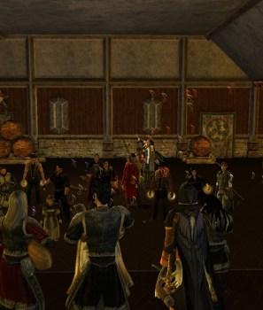 C'était l'inauguration de la Taverne Lèvecoude