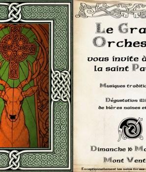 Le Grand orchestre fête la St Patrick