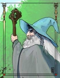 Leslie Boulay - Gandalf le Gris