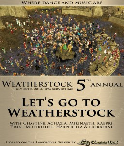 Andúnië - Weatherstock 2013