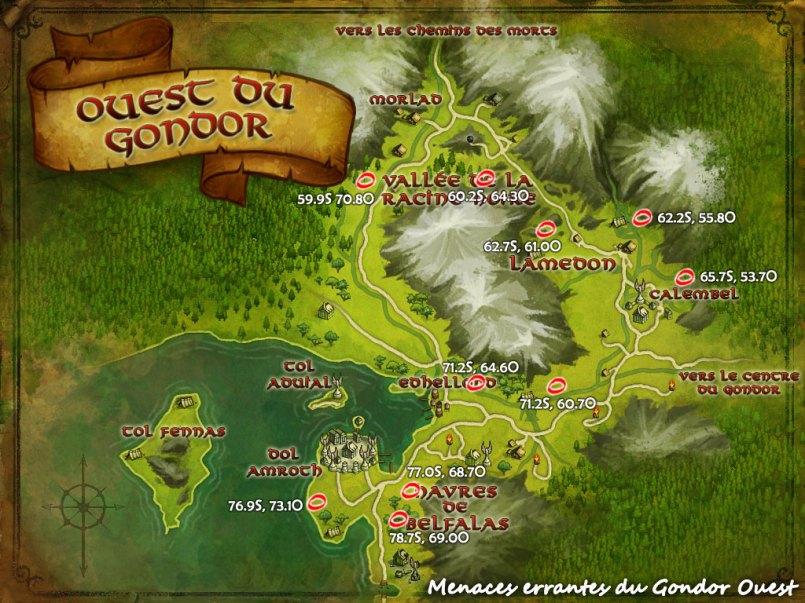 Menaces Errantes - Gondor Ouest