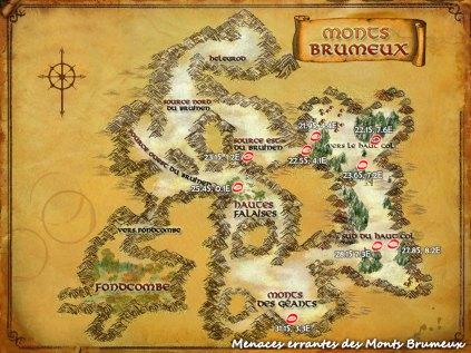 Menaces errantes - Monts Brumeux