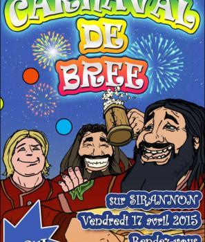 Le Carnaval de Bree passe sur Sirannon