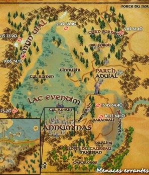 Les menaces itinérantes d'Eriador