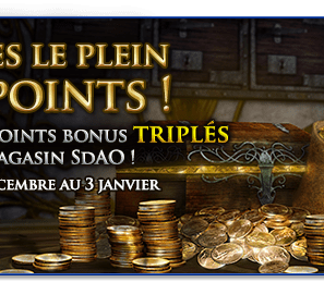 Triple Points Bonus !