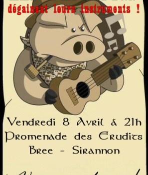 Les Daft Pigs en concert ce vendredi
