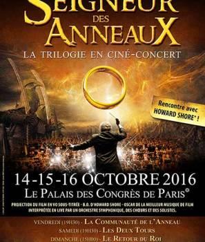En octobre Ciné concert – Le Seigneur des Anneaux