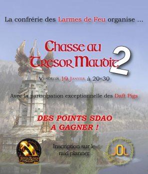 La Chasse au trésor Maudit : 2e édition !