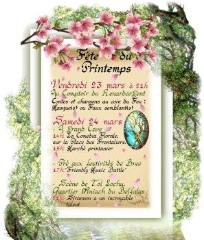 Sirannon fête le printemps