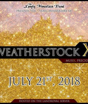 Weatherstock X : ce samedi !