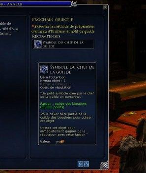 Nouveautés du coté des guildes d'artisans