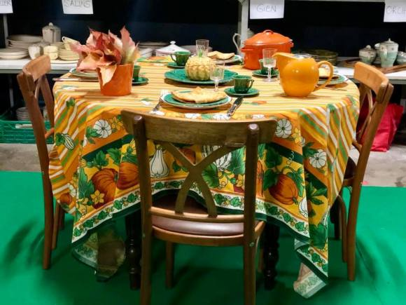 La table de Halloween