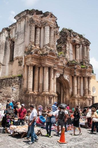 Vieille cathédrale d'Antigua