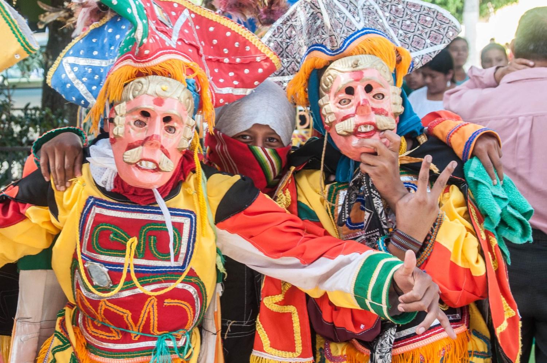 Baile de los venados, Coban, Guatemala