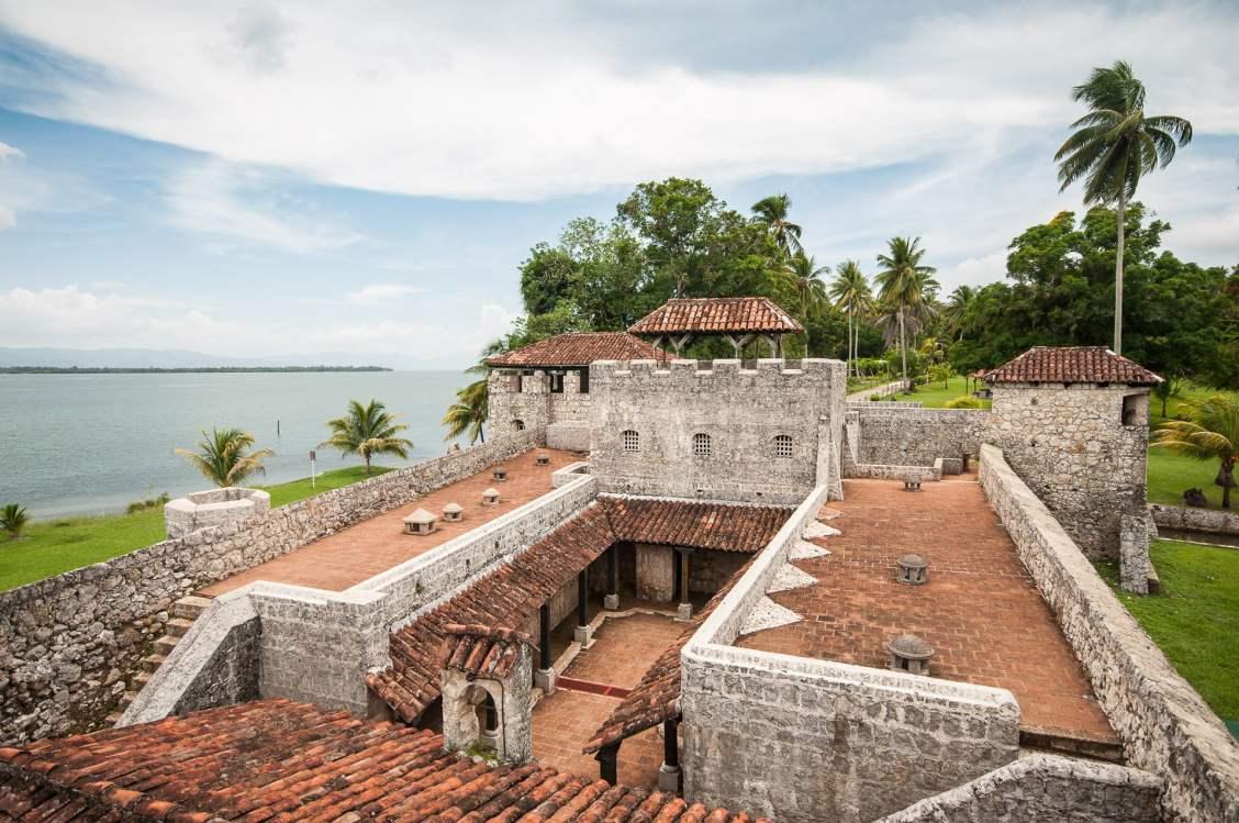 El castillo san felipe - Vue des tours de vigies