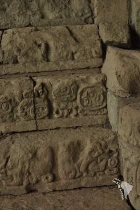 Escaliers aux hiéroglyphes, Copan Ruinas